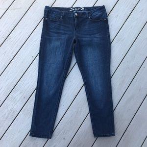 Seven7 Embellished Back Pocket Skinny Jean Size 16